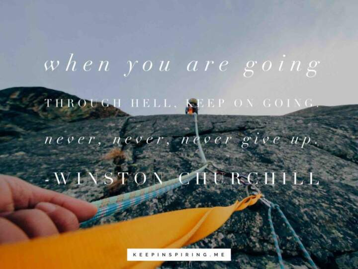 Quotes About Not Giving Up & Staying Strong  Keep Inspiring Me