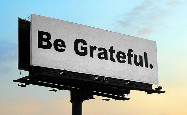 What are you grateful for? (Photo credit: SnoShuu)