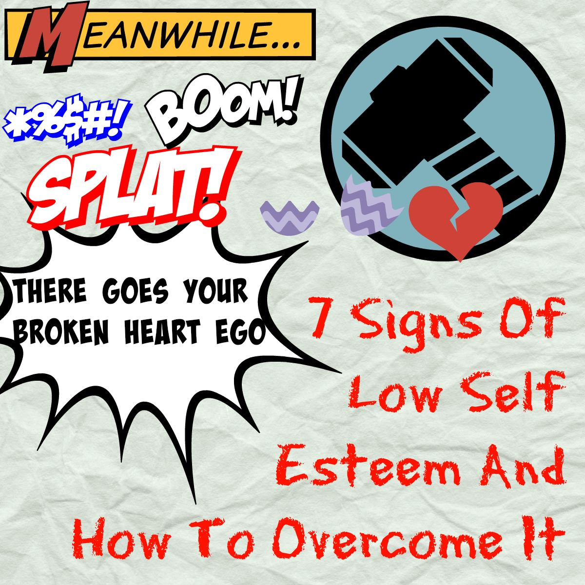 how to overcome low self esteem