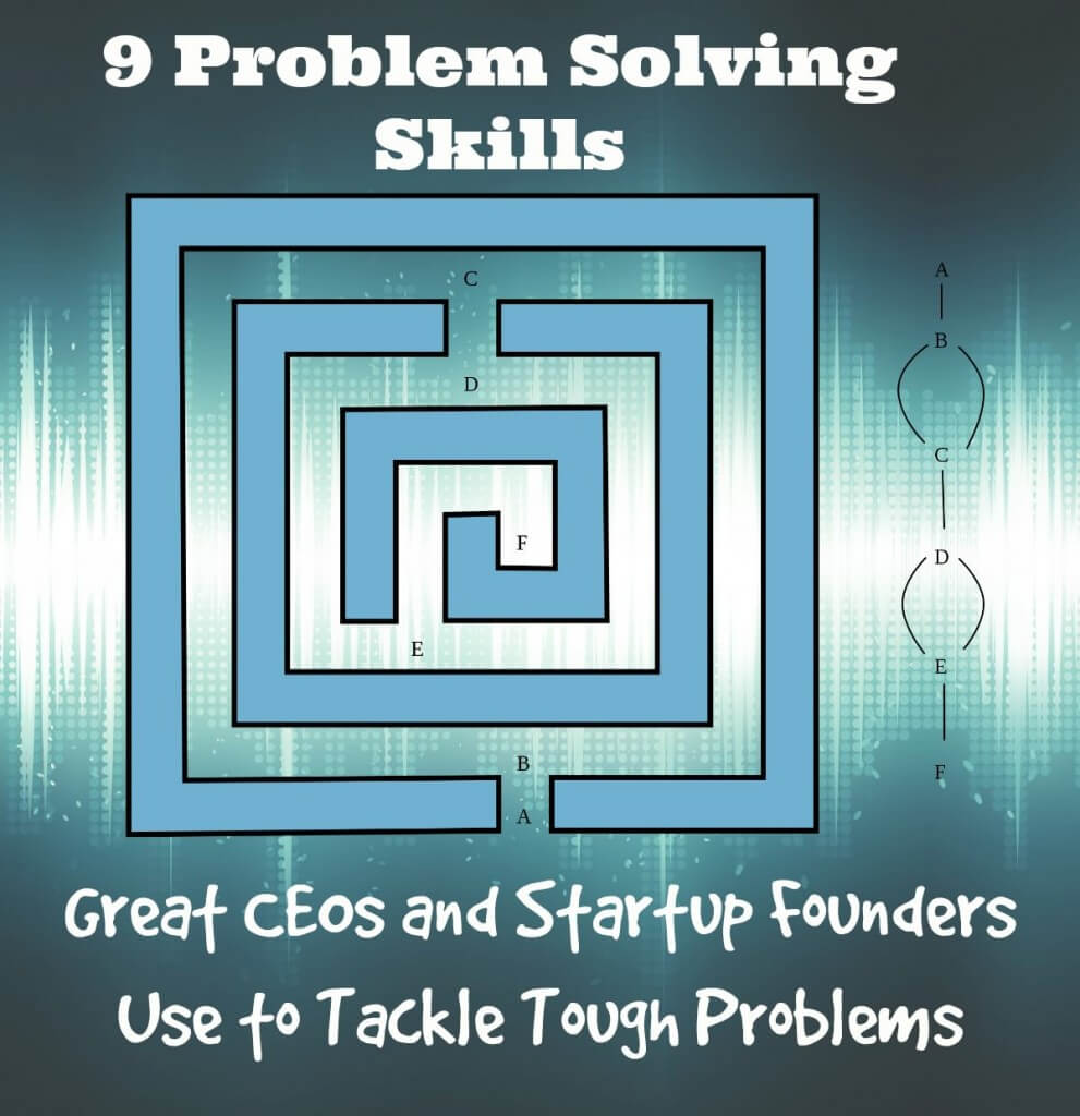 9 problem solving skills great ceos and startup founders use to 9 problem solving skills great ceos and startup founders use to tackle tough problems