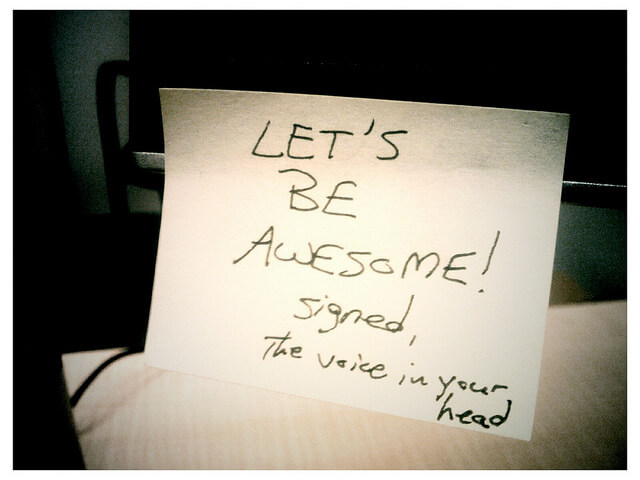 let's be awesome