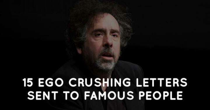 15 Ego Crushing Letters Sent to Famous People