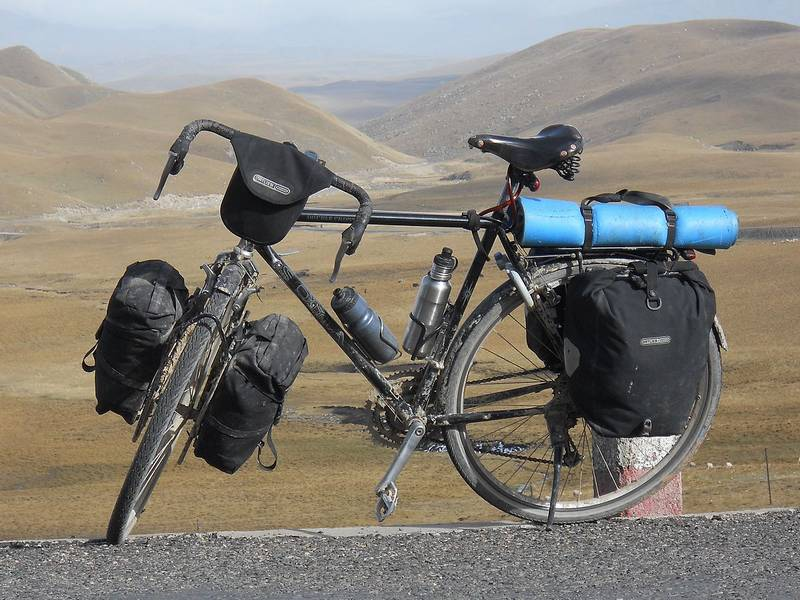 Cycling through ALL the countries on earth