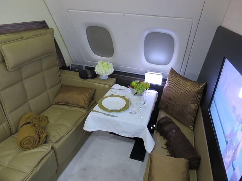 Fly in Etihad Airways Residence suite