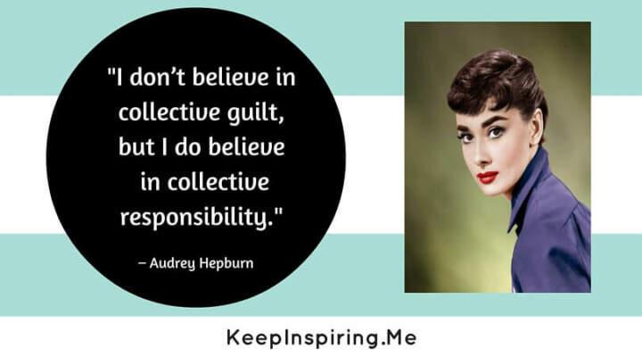 Audrey Hepburn Quotes Humanitarian