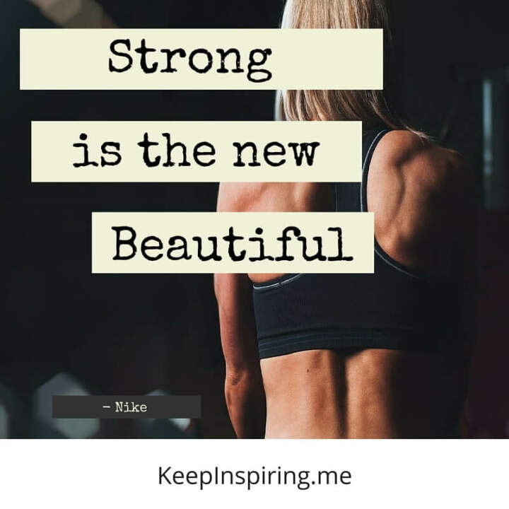 strong is the new beautiful nike