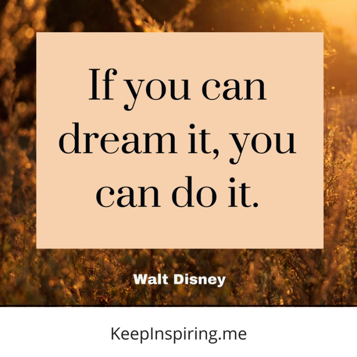 Inspirational Walt Disney Quotes