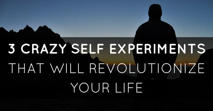 self-experiments