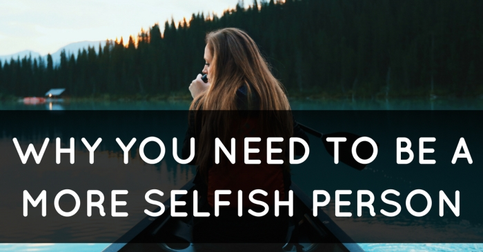 selfish-person