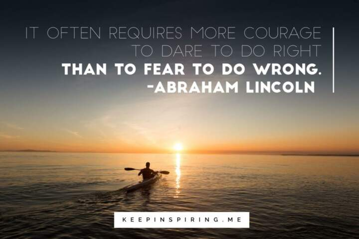 Famous Quotes About Fear   113 Abraham Lincoln Quotes Depicting His Compassion For All