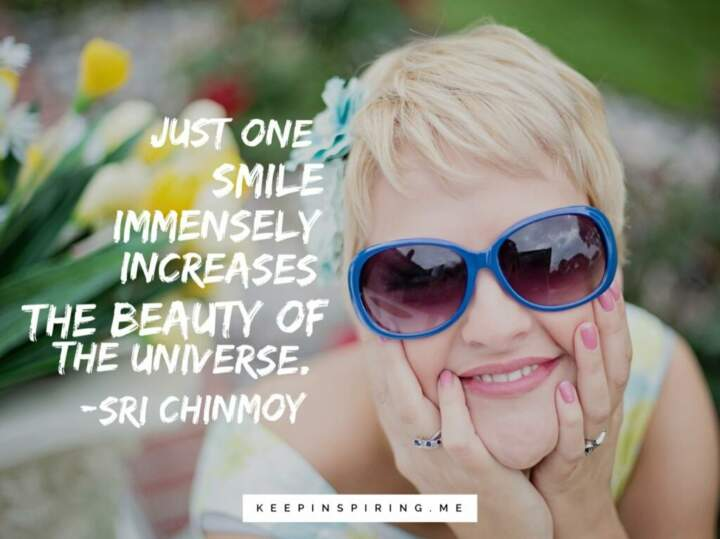 Picture quotes smile 25 Cute