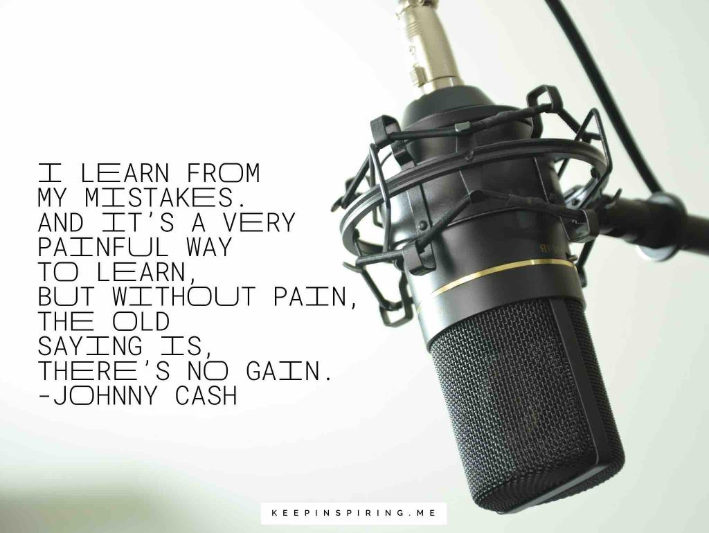 A recording microphone like the one Johnny Cash used in Memphis