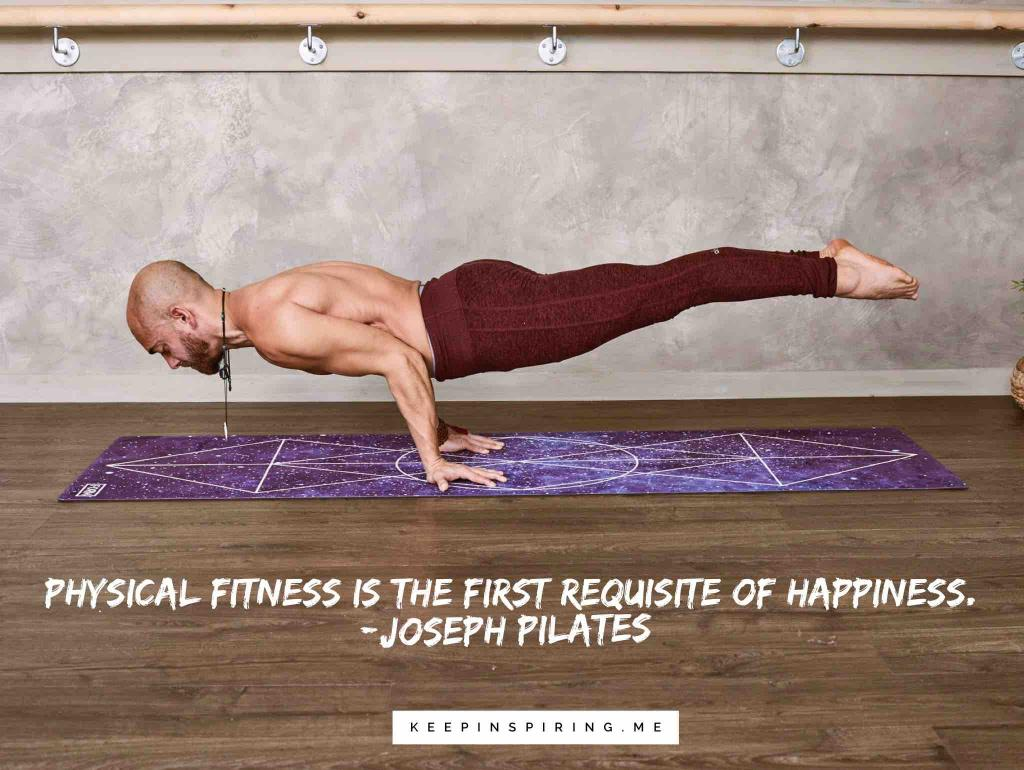 A man holding himself off the ground while doing a reverse push-up
