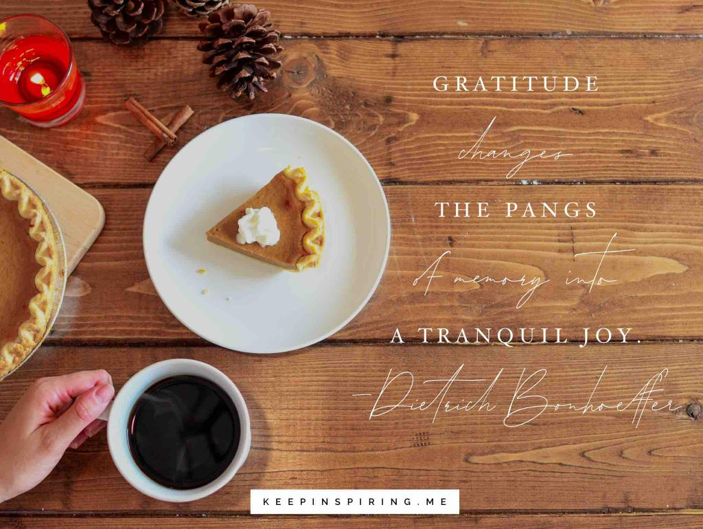 A slice of pumpkin pie and a steamy cup of coffee on a table