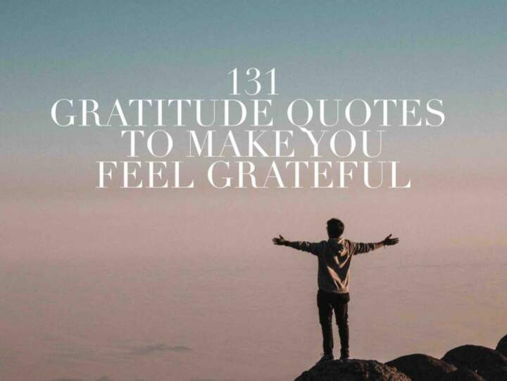 131 Gratitude Quotes To Make You Feel Grateful