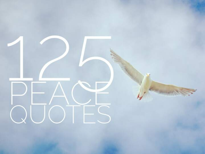 125 Peace Quotes