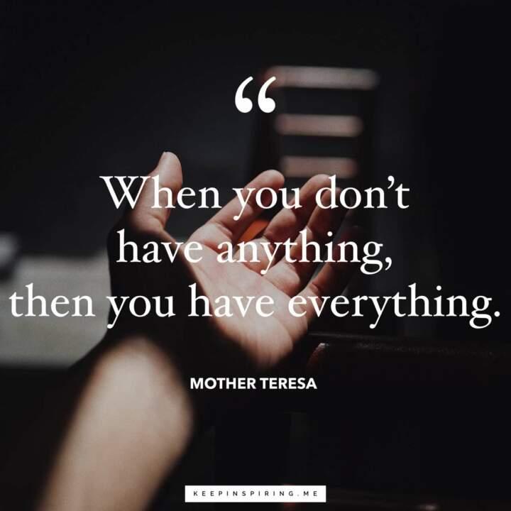 Mother Teresa Quotes Keep Inspiring Me