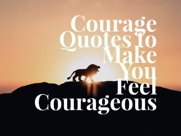 Courage Quotes to Make You Feel Courageous