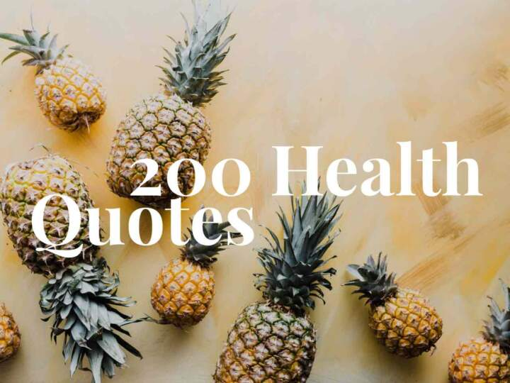 200 Health Quotes